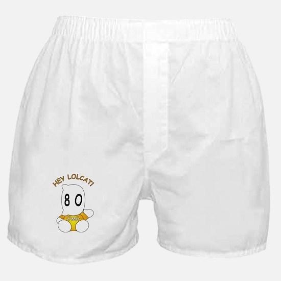 HeyLOLcatOMG.psd Boxer Shorts