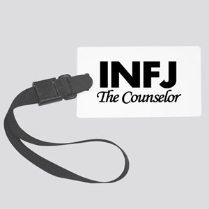 INFJ | The Counselor Large Luggage Tag