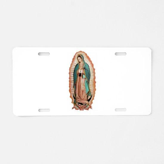 guadalupe Aluminum License Plate