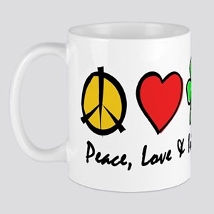 Peace Love Irish Dance Mug
