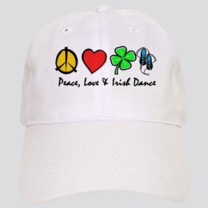 Peace Love Irish Dance Cap