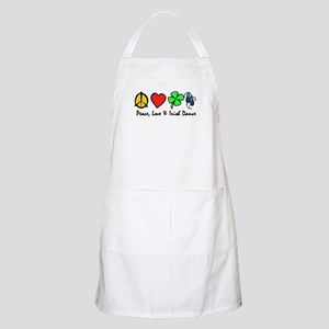 Peace Love Irish Dance BBQ Apron