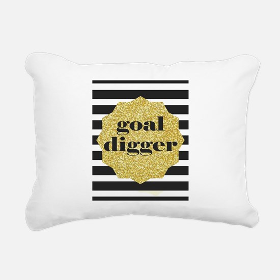 goal digger Rectangular Canvas Pillow