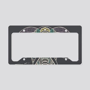 Indian Elephant License Plate Holder