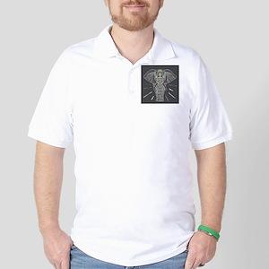 Indian Elephant Golf Shirt