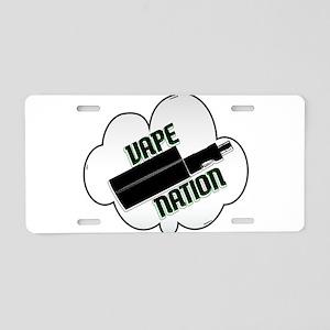 vape nation Aluminum License Plate
