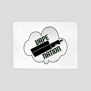 vape nation 5'x7'Area Rug