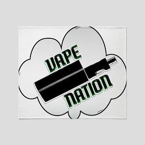 vape nation Throw Blanket
