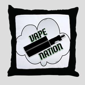 vape nation Throw Pillow