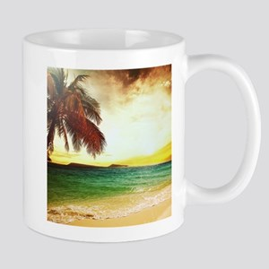 Tropical Beach Mugs