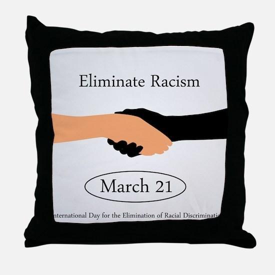 Cool Human hand Throw Pillow