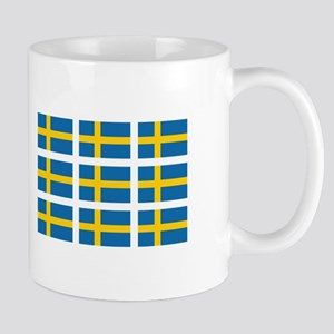 Sweden Flags Mugs
