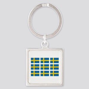 Sweden Flags Keychains