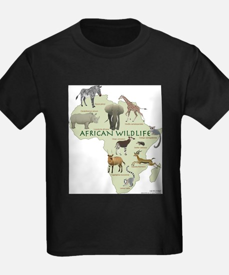 african wildlife Ash Grey T-Shirt