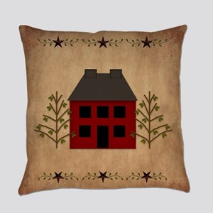 Primitive House Everyday Pillow