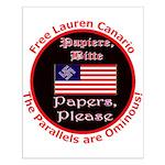 Free Lauren-2 Small Poster
