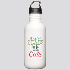 2 Dads to be This Cute Stainless Water Bottle 1.0L