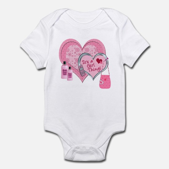 It's a Girl Thing (Pink) Infant Bodysuit