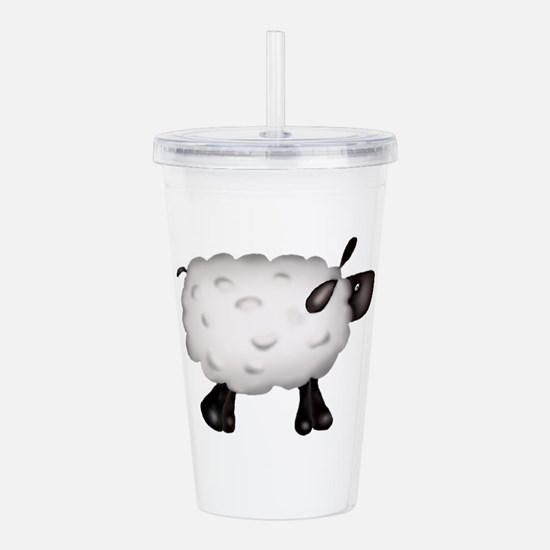 Country Sheep Acrylic Double-wall Tumbler