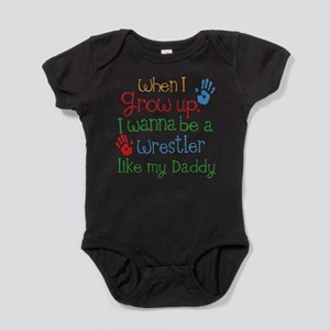 Wrestler Like Daddy Baby Bodysuit