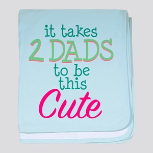 2 Dads to be This Cute baby blanket