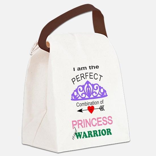 warrior princess Canvas Lunch Bag