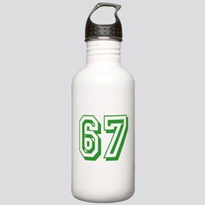 67 Green Birthday Stainless Water Bottle 1.0L