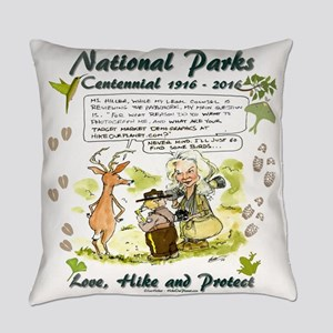 National Parks Centennial Everyday Pillow