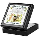 National Parks Centennial Keepsake Box