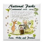 National Parks Centennial Tile Coaster