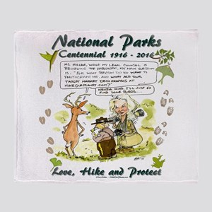National Parks Centennial Throw Blanket