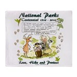 National Parks Centennial Throw Blanket