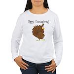 Happy Thanksgiving Women's Long Sleeve T-Shirt