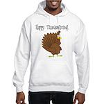 Happy Thanksgiving Hooded Sweatshirt