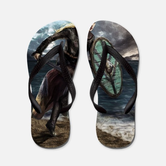 Cute Viking Flip Flops