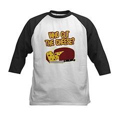 Cut The Cheese Kids Baseball Jersey