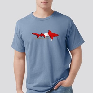 Shark Diving Flag T-Shirt
