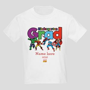 Marvel Kindergarten Grad Person Kids Light T-Shirt