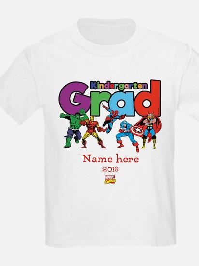 Marvel Kindergarten Grad Person T-Shirt