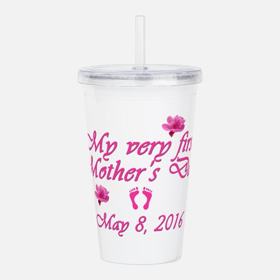 First Mother's Day 201 Acrylic Double-wall Tumbler