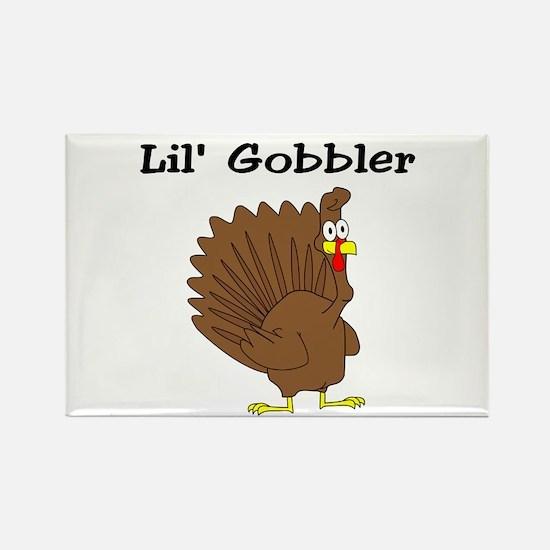 Lil' Gobbler Rectangle Magnet (100 pack)