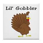 Lil' Gobbler Tile Coaster