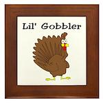Lil' Gobbler Framed Tile