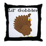 Lil' Gobbler  Throw Pillow