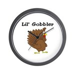 Lil' Gobbler Wall Clock