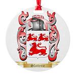 Slatterie Round Ornament