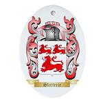 Slatterie Oval Ornament