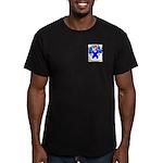 Slatter Men's Fitted T-Shirt (dark)