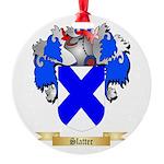 Slatter Round Ornament