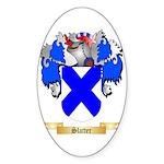 Slatter Sticker (Oval 50 pk)